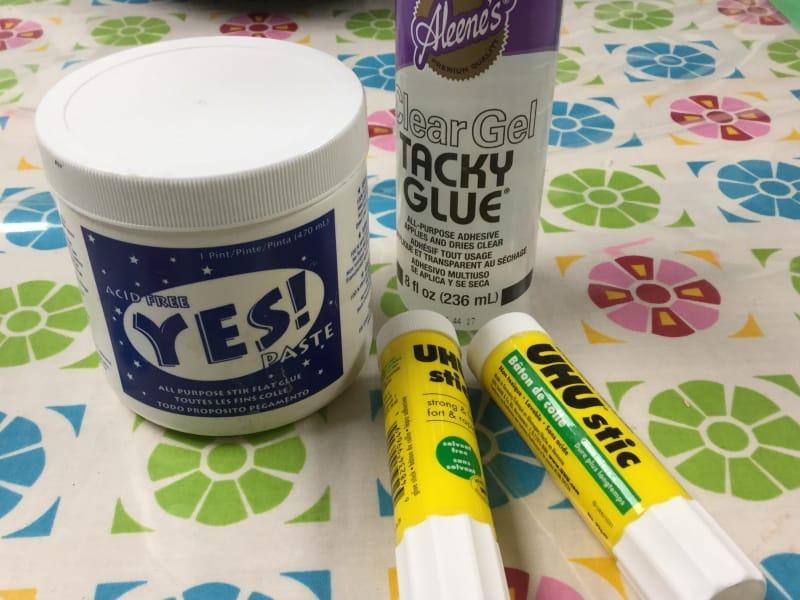 glue and paste