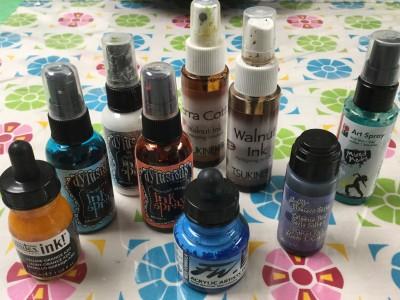 spray inks