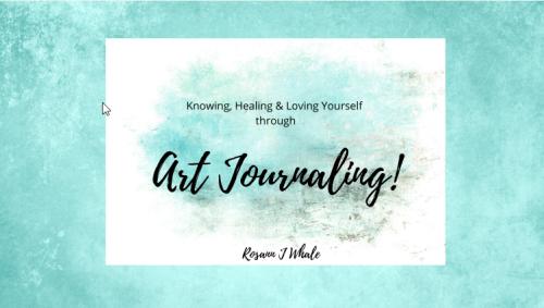 art journaling book cover